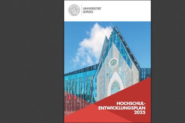 Hochschulentwicklungsplan 2025. Cover: Universität Leipzig
