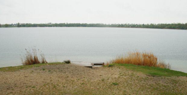 Oststrand des Kulkwitzer Sees. Foto: Ralf Julke