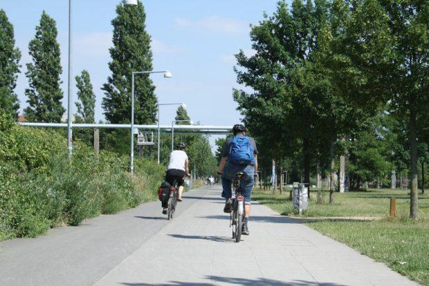 Im Lene-Voigt-Park. Foto: Ralf Julke