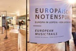 Die Ausstellung der Notenspur. Foto: Daniel Reiche