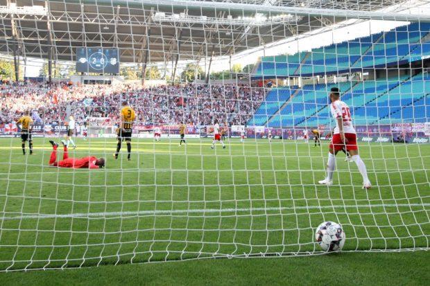 Kampl verwandelte zum 3:0. Foto: GEPA pictures/Sven Sonntag