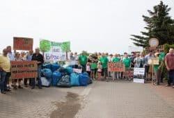 """Aktion """"Bäume statt Bauschutt"""" am 17.Juni. Foto: Detlev Ducksch, BI Rückmarsdorf"""