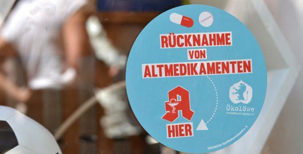 Rücknahme von Altmedikamenten. Foto: Ökolöwe