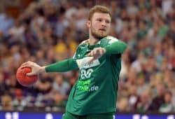 Nationalspieler Philipp Weber feierte unter Dagur Sigurdsson sein Debüt in der Nationalmannschaft. Foto: Rainer Justen