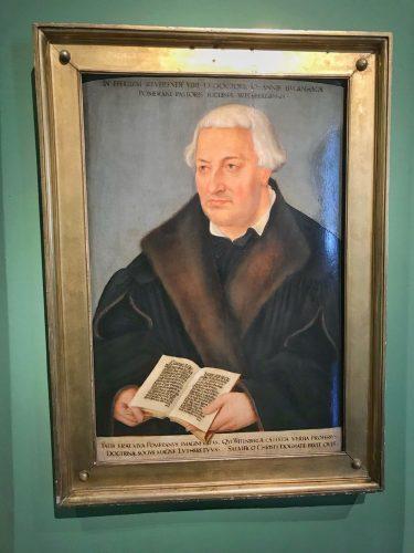 Das Bugenhagen-Porträt von Cranach dem Jüngeren. Foto: Hieronymus-Lotter-Gesellschaft
