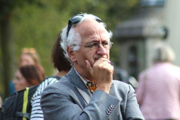 Christian Wolff (beim Brückenfest 2018). Foto: Michael Freitag