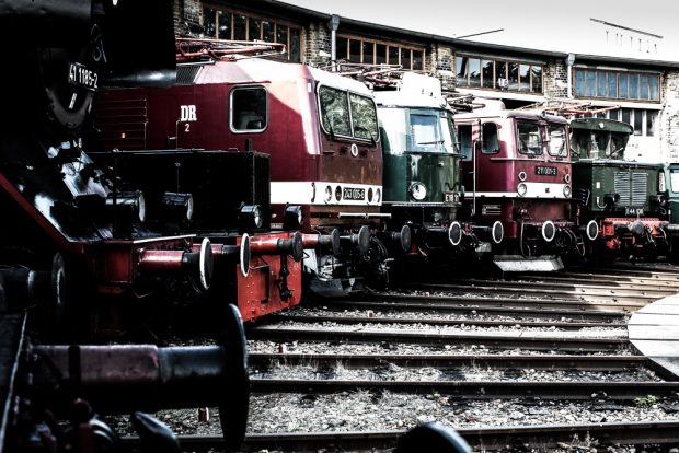DB Museum in Halle (Saale). Foto: DB Museum/Mike Beims