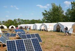 Das Klimacamp 2018 in Pödelwitz. Foto: Luca Kunze