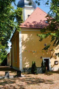 Die Kirche in Pödelwitz. Foto: Luca Kunze