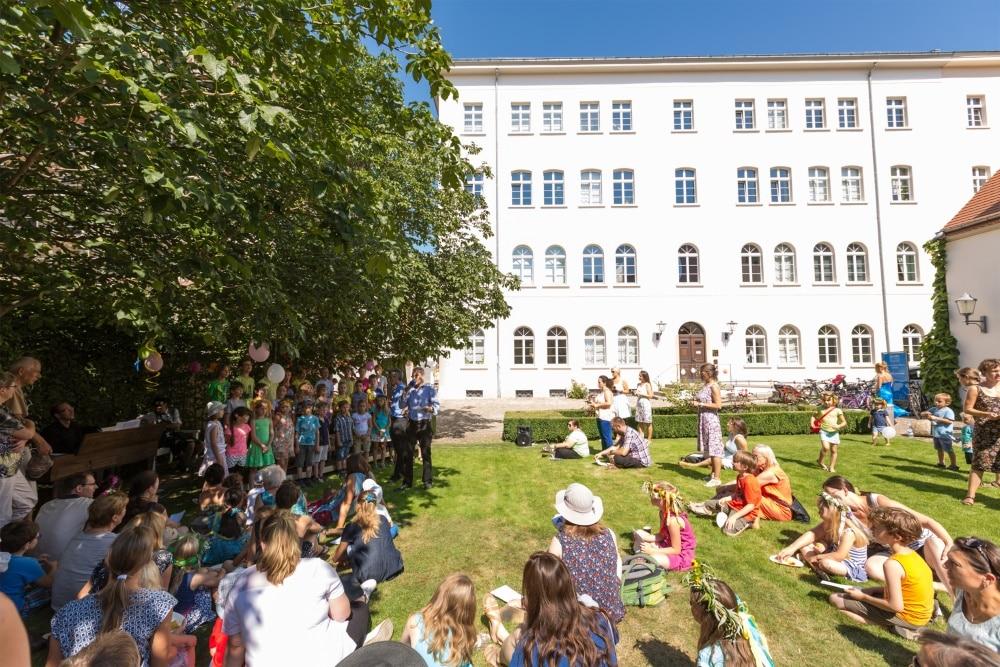 Kinderfest bei Mendelssohn. Foto: Christian Kern