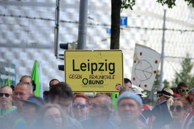 Die Auftaktdemonstration am 28. Juli 2018 in Leipzig. Foto: Michael Freitag