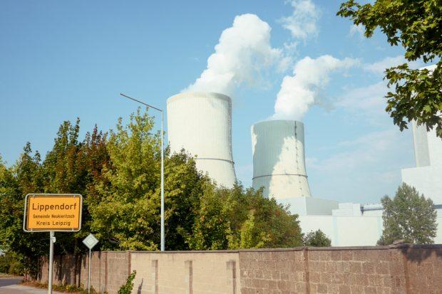 Da ist mehr drin als nur CO2. Das Kohle-Kraftwerk Lippendorf, bislang Fernwärmeversorger für die Stadt Leipzig. Foto: Luca Kunze