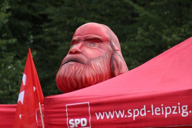 Marx war zwischen SPD und Linke geparkt