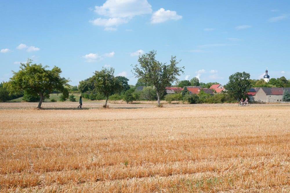 Pödelwitz - ein weiteres Dorf vor Leipzig soll der Kohle weichen. Hier findet bis zum 5. August das