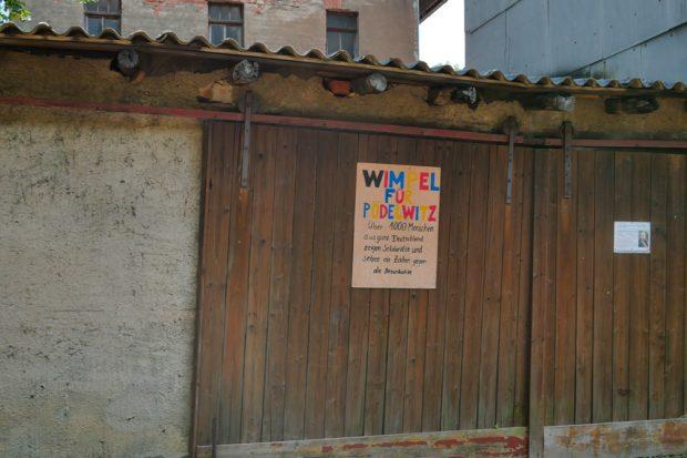Derzeit ist Pödelwitz auf Einladung der Pödelwitzer wieder bewohnter als sonst. Foto: Luca Kunze
