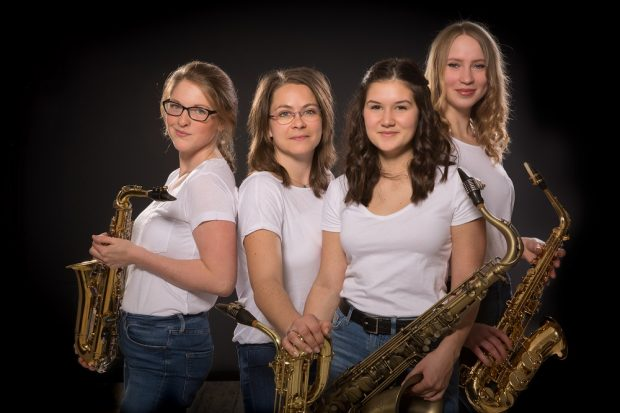 Die Sax`n - Saxophonklänge aus Leipzig, Foto: Die Sax`n