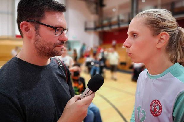 """""""Es ist ganz viel Dankbarkeit da."""" Interview mit Katja """"Schülki"""" Kramarczyk. Foto: Sascha Röser"""