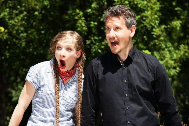 Annemarie Schmidt und Roman Raschke. Foto: Andreas Collandi