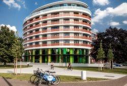 Erweiterungsneubau der UNITAS am Westplatz: Apels Bogen. Foto: Unitas / Sven Winter