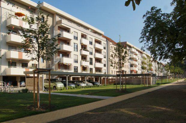 BGL-Wohnungen in Connewitz. Foto: BGL