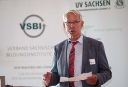 Präsident Hartmut Bunsen. Foto: Unternehmerverband Sachsen e.V.