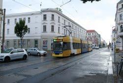 Kreuzung Zschochersche / Industriestraße in Plagwitz. Foto: Ralf Julke