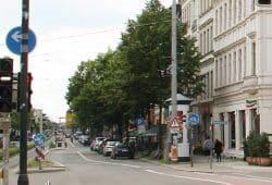 KarLi zwischen Südplatz und Kurt-Eisner-Straße. Foto: Ralf Julke