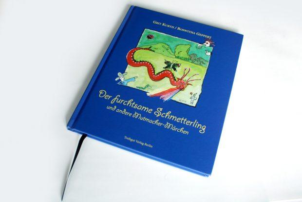 Grit Kurth, Roswitha Geppert: Der furchtsame Schmetterling. Foto: Ralf Julke