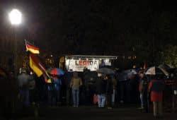 Aggressive Sehnsuch nach Heimat: LEGIDA. Foto:L-IZ