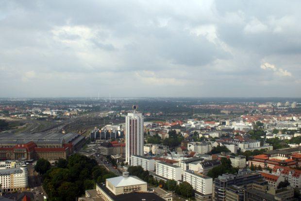 Leipzig mit Blick nach Norden. Archivfoto: Ralf Julke