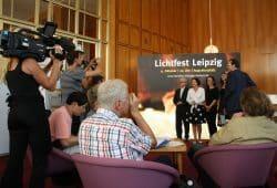 Präsentation fürs Lichtfest 2018. Foto: Ralf Julke