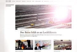 Lockführer dringend gesucht! Screenshot: L-IZ