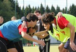 Teilnehmer in einem Workshop der Sportjugendakademie. Foto: LSB