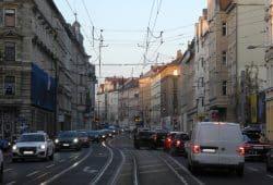 Lützner Straße. Foto: Ökolöwe