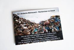 """Einladung zu """"Der deutsche Müllrausch"""" in Weimar. Foto: Ralf Julke"""