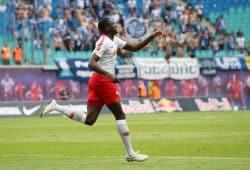 Ibrahima Konaté erzielte den Führungstreffer. Foto: GEPA pictures/Sven Sonntag