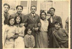 Angehörige der Familien Ansin, Thormann und Laubinger/Steinbach Mitte der 1930er Jahre in Dessau-Roßlau. Foto: Hanns Weltzel, Quelle: University of Liverpool Library
