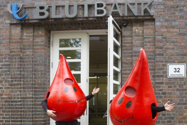 Hier sind Blutspender immer willkommen: Die UKL-Blutbank in der Johannisallee 32. Dringend gesucht werden gerade die Gruppen A sowie Null. Foto: Stefan Straube/UKL