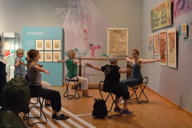 Feierabend-Yoga. Foto: SGM