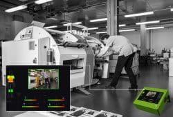 """Das """"Ergonomics in Motion""""-System analysiert körperliche Belastungen am Arbeitsplatz. Foto: HTWK"""