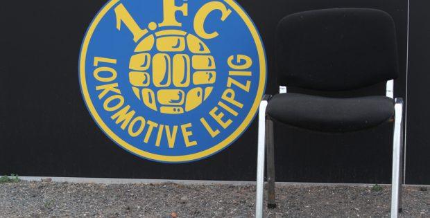 Beim 1. FC Lok ist der Trainerstuhl frei geworden. Foto: Jan Kaefer