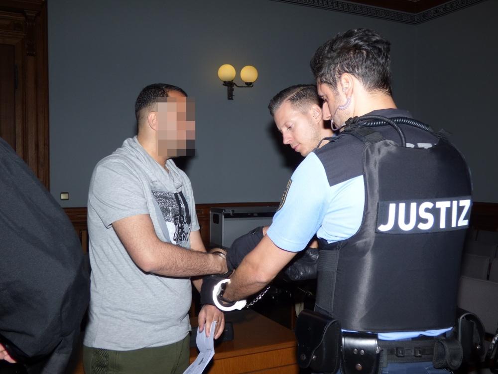 Qusay A. (28) soll sein Insiderwissen für die Überfälle bereitgestellt haben. Foto: Lucas Böhme