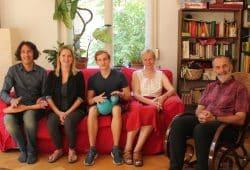 Besuch bei Rogelio Avila, Foto: Elke Leinhoß, Leipziger Notenspur e.V.