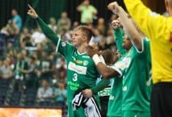 Endlich! Der SC DHfK hat den ersten Saisonsieg eingefahren. Foto: Jan Kaefer