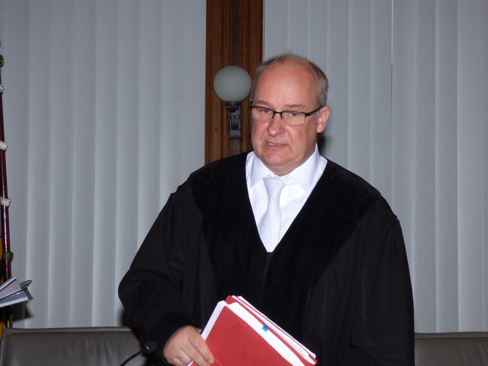 Der Vorsitzende Richter Michael Dahms. Foto: Lucas Böhme