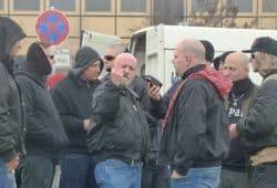 Ist das der neue Zeitgeist? Neonazis bei einer Demonstration am 18. März 2017 in Leipzig. Foto: L-IZ.de
