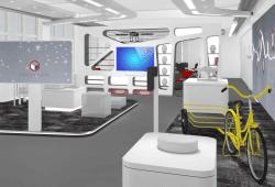 Entwurf des neuen Logistics Living Lap der Universität Leipzig. Foto: Sterntaler Design Consult GmbH