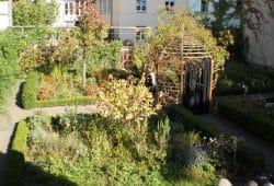 Garten des Schillerhauses, Foto: Stadtgeschichtliches Museum