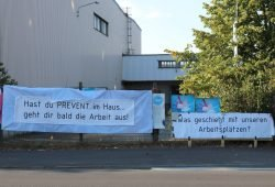 Ergebnisloser Abbruch der Schlichtung bei der Neuen Halberg Guss. An der Merseburger Straße wird es immer enger mit einer guten Lösung. Foto: L-IZ.de