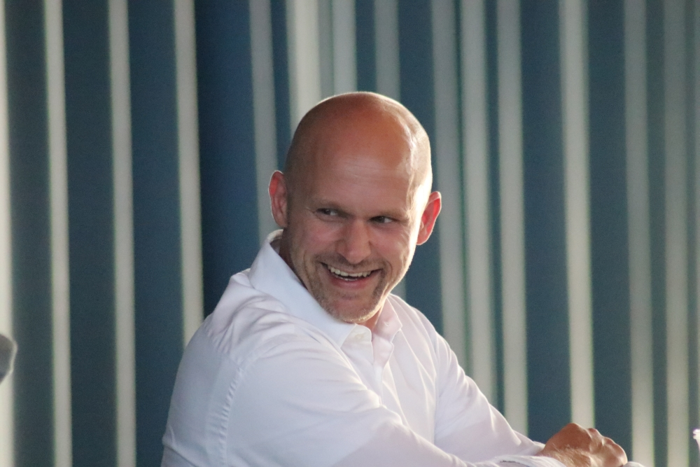 Trainer Sven Gerike ist schon heiß auf die Saison. Foto: Michael Freitag